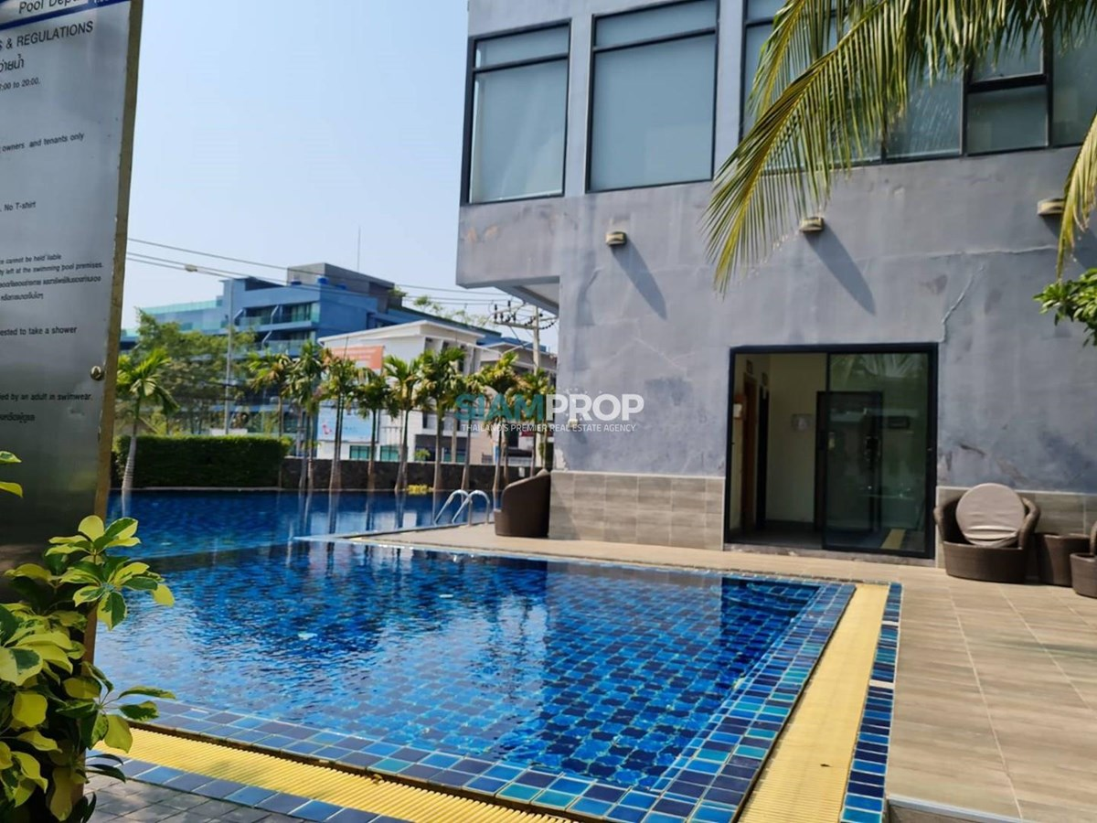 Dusit Grand Condo View is open for rent and sale !! Near the Russian market and only 300 meters from Chad beach !! - Condominium -  -