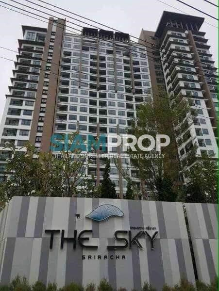 The Sky Condo Sriracha is open for sale with tenants !!